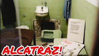 #1202 ALCATRAZ Full Tour & Incredible Escape Stories AL Capone Cell SAN FRANCISCO Travel (12/2/19)