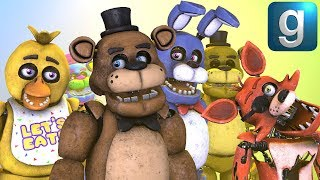 Gmod FNAF | Messing Around With Help Wanted FNAF 1 NPCs!