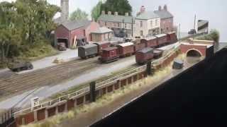 Wigan Model Railway Exhibition 3rd October 2015 Part 1