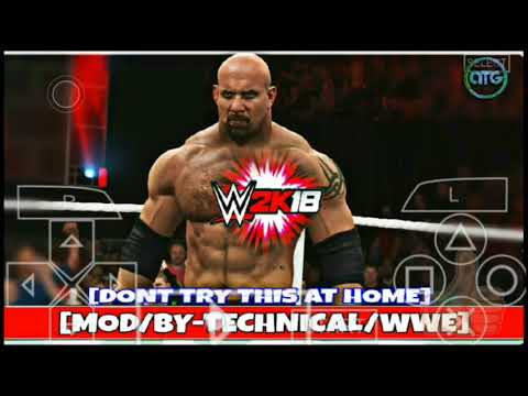 150MB) WWE 2K18 Full Game Download PPSSPP ON ANDROID IN