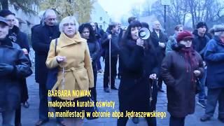 W Krakowie obok wiecu przeciwko kościelnej nienawiści odbyła się manifestacja poparcia dla abpa Jędraszewskiego.