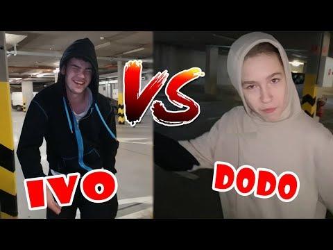 Nočný PARKOUR tréning - Ivo vs Dodo - Flying Emotions