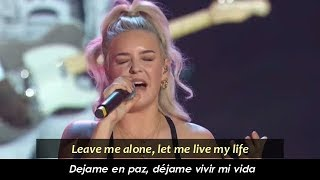 Rudimental & Major Lazer - Let Me Live (feat. Anne-Marie) [Sub. Español / Lyrics]