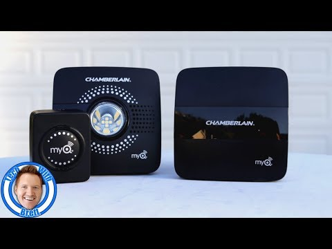 MyQ Smart Garage Hub & MyQ Home Bridge Installation & Review