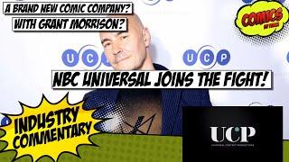 NBC Creates A New Comic Company! With Grant Morrison?