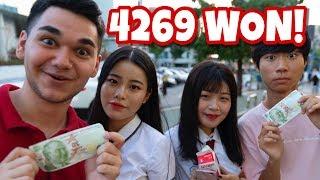20 TL ile KOREDE Bir Gün Geçirmek! (4269 WON!)