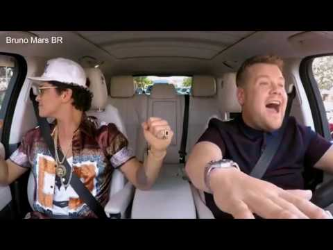 [LEGENDADO] Parte 1/5 - Bruno Mars no Carpool Karaoke HD