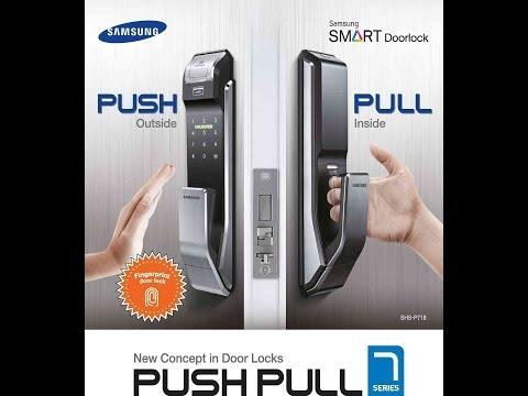 Samsung Push Pull Digital Lock