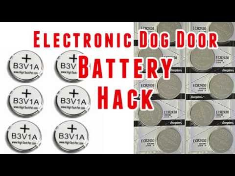 High Tech Pet Collar Battery Hack - B3V1A vs CR2430 Batteries