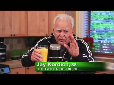 Video Jay Kordich makes Real Orange Juice