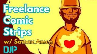 Making Money With Comic Strips W/ Samax Amen