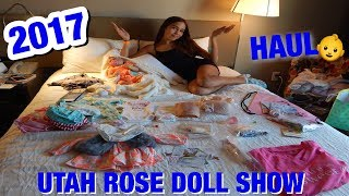 A New Reborn Baby Plus Our Haul From The 2017 Rose Doll Show