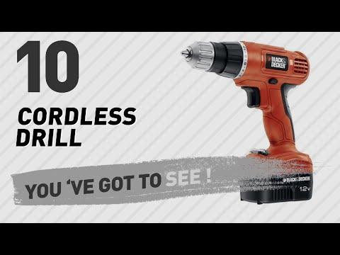 Black & Decker Cordless Drill // New & Popular 2017