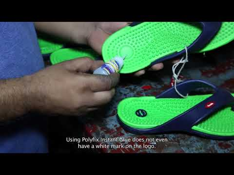 Instant Glue  For Footwear Repairs and Sticking Logos & Articles
