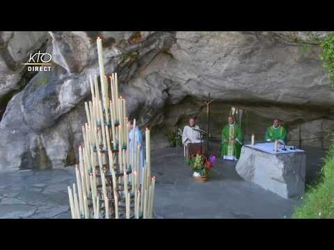 Messe à Lourdes du 12 juin 2020