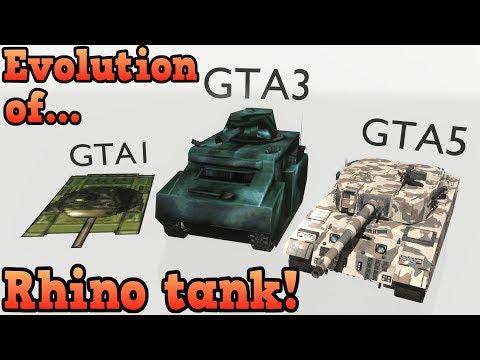 歷代GTA系列 的犀牛坦克