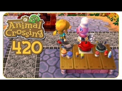 Kochwahn beim Herbstfest #420 Animal Crossing: New Leaf - welcome amiibo - Let's Play