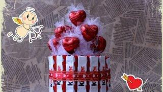 Мастер класс, сладкий подарок на 14 февраля
