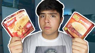 Probando COMIDA de $1 DOLAR!!