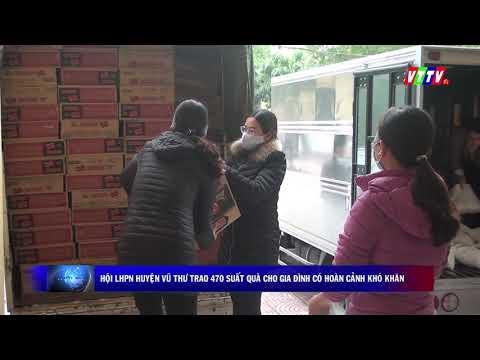 Hội phụ nữ huyện trao 470 suất quà cho Hội viên PN có hoàn cảnh khó khăn