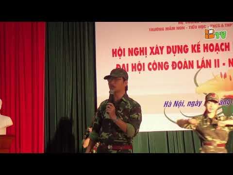 Tiết mục hát múa: Chúng tôi là chiến sĩ - Giáo viên Tổ Năng khiếu trường tiểu học Quốc tế Thăng Long