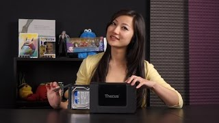 Thecus N2310 NAS Server Unboxing
