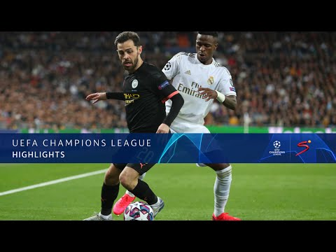 UEFA Champions League Highlight: Real Madrid vs Manchester C