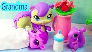 Grandma Squirrel - Mommies Part 25 Littlest Pet Shop Series Movie LPS Mom Babies