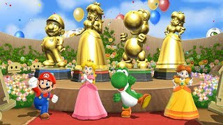 Mario Party 9 Special Step It Up - Everybody Won| Mario, Peach, Yoshi, Daisy| Cartoons Mee