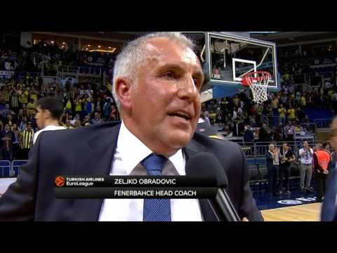 Post-game interview: Coach Obradovic, Fenerbahce Istanbul