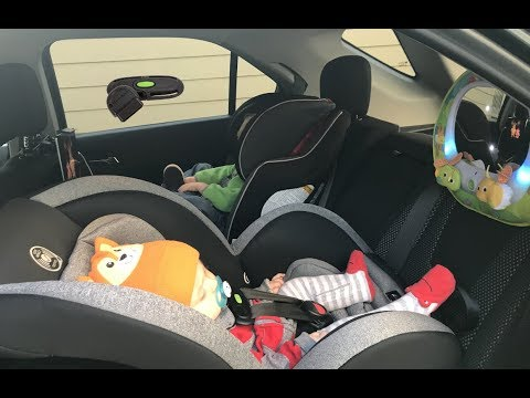 Evenflo Titan 65 Convertible Car Seat Sensor Safe Technology Review