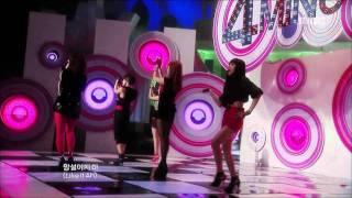 4Minute - MUZIK, 포미닛 - 뮤직, Music Core 20090905