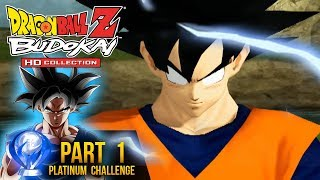Dragon Ball Z: Platinum Challenge - Budokai HD Collection Part 1 (DBZ Budokai HD Gameplay)