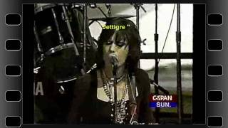 Joan Jett -Spinster ( FUCK YOU ) - LIVE on CSPAN