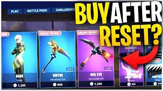 Can YOU BUY An ITEM From The SHOP AFTER It DAILY RESETS? | Airstrike VS Drone! Fortnite Mythbusters