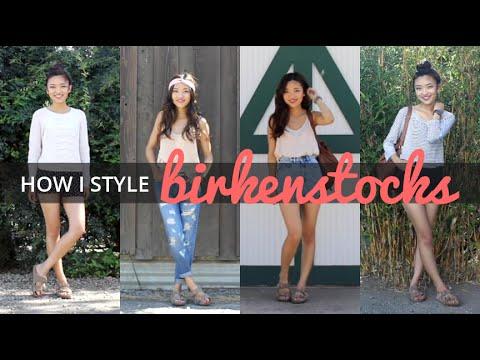 How I Style Birkenstocks