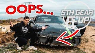 *CRASHED MY PORSCHE* DRIFT BATTLE: LEXUS LFA VS GT3RS