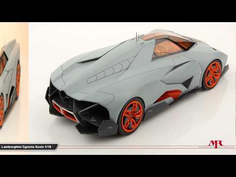 lamborghini egoista 1 18 scale model is more awesome than the real thing autoevolution. Black Bedroom Furniture Sets. Home Design Ideas