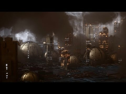 Cinema 4D Tutorial – Create a Futuristic City Using Octane Scatter and Volumetrics