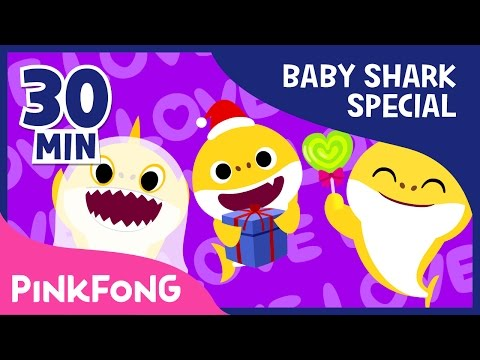 Baby Shark Compilation | Holiday Sharks And More | Animal Songs | Pinkfong Songs For Children - Pinkfong! Kids' Songs & Stories