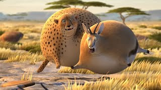 What If Animals Were Round?   Full Episode   All Credit Goes To  ROLLIN' WILD   Animation animal