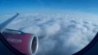 preview picture of video 'London Luton to Košice Wizzair Flight'