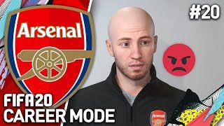 DEALING WITH OUR FIRST UNHAPPY PLAYER! | FIFA 20 ARSENAL CAREER MODE #20