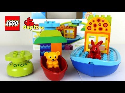 Vidéo LEGO Duplo 10567 : Ensemble pour le bain pour tout-petits