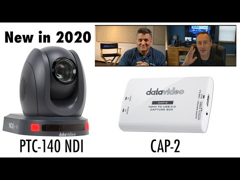 Datavideo CAP-2 Video Capture Card & PTC-140NDI NDI Camera