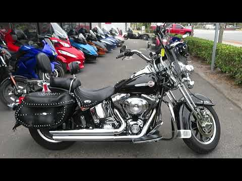 2002 Harley-Davidson FLSTC/FLSTCI Heritage Softail® Classic in Sanford, Florida - Video 1