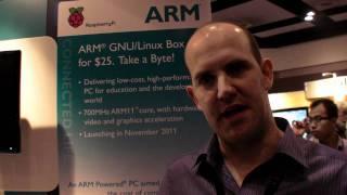 Raspberry Pi presents the $25 PC at ARM TechCon 2011