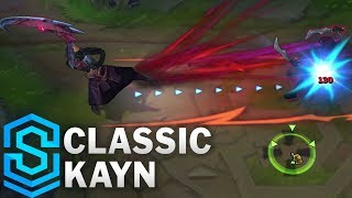 Classic Kayn, the Shadow Reaper - Ability Preview - League of Legends