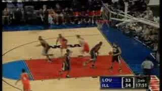 2005 Final Four Illinois v Louisville Highlights