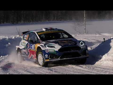 Arctic Rally Finland 2021, avec Adrien et Renaud